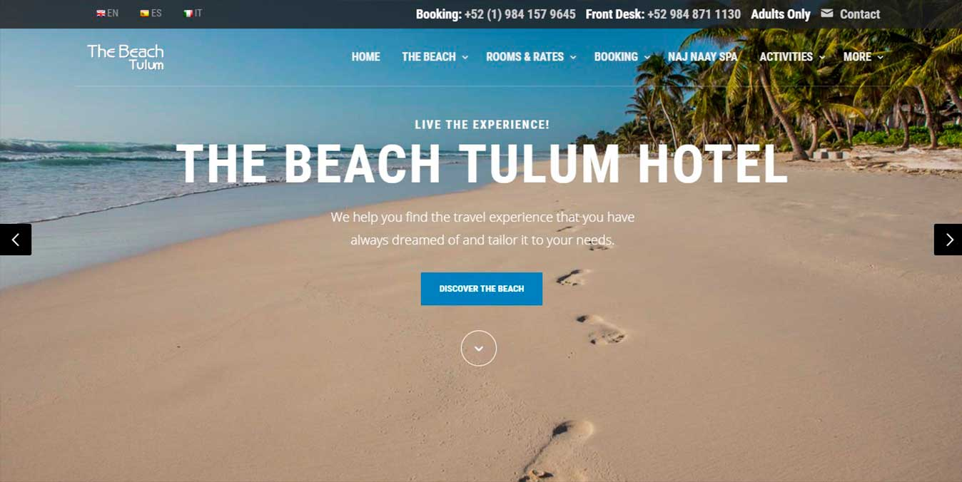 The Beach boutique hotel in Tulum